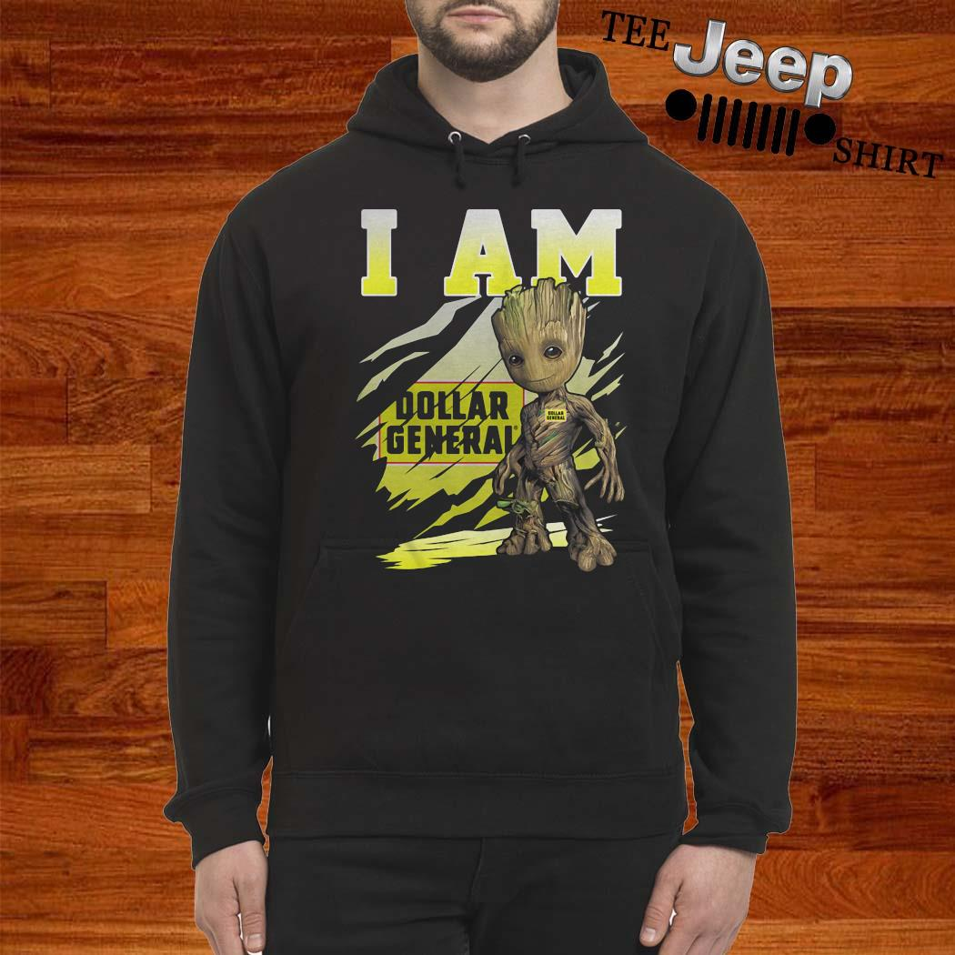 Baby Groot I Am Dollar General Shirt hoodie
