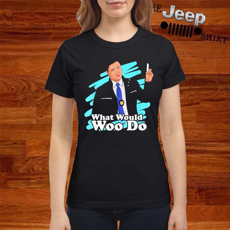 Agent Woo What Would Woo Do Shirt ladies-shirt