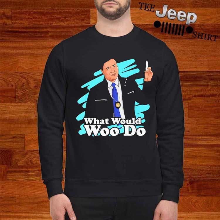 Agent Woo What Would Woo Do Shirt sweatshirt