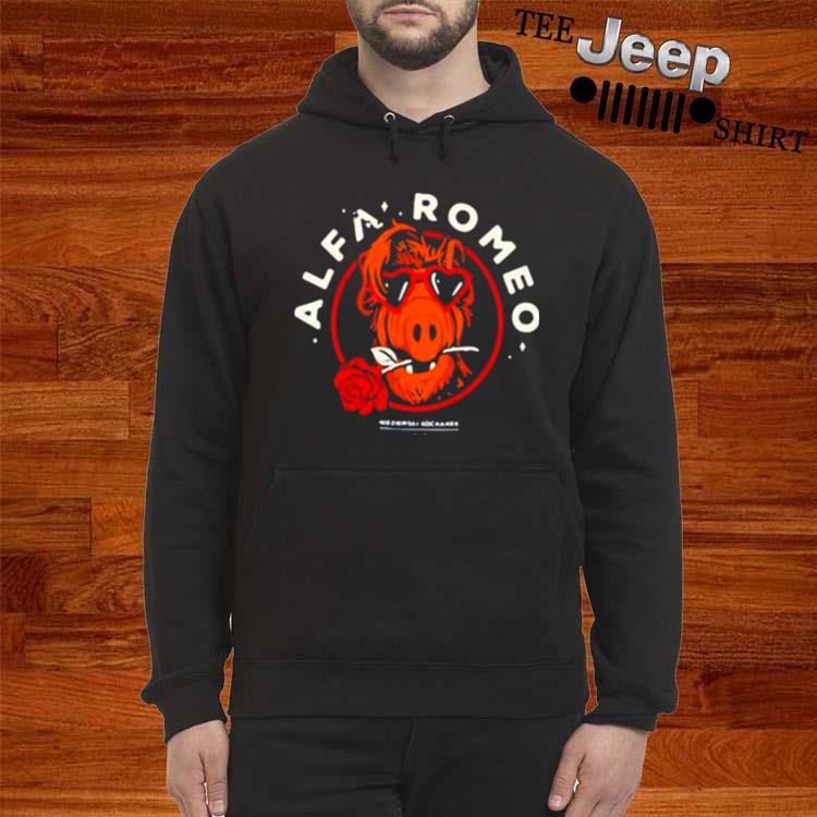 Alfa Romeo Rose hoodie
