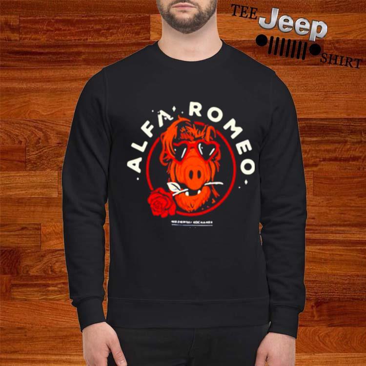 Alfa Romeo Rose sweatshirt