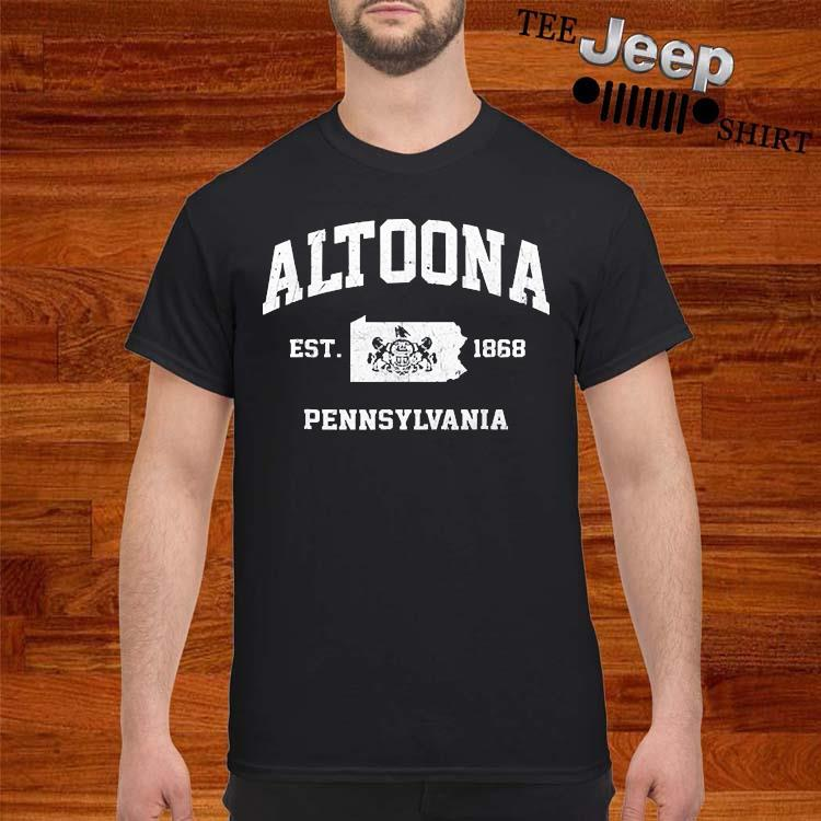 Altoona Pennsylvania PA Vintage state Athletic Shirt