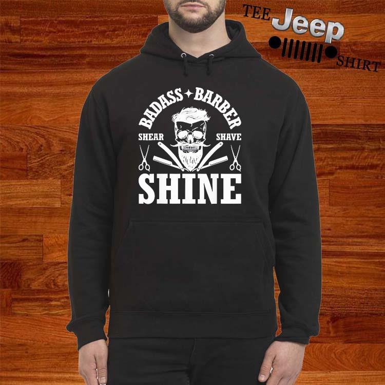 Barber Share Shave Shine Barber Shirt hoodie