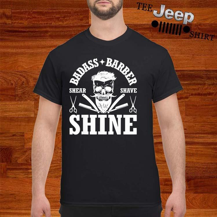 Barber Share Shave Shine Barber Shirt
