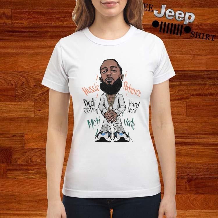 Wave Runner 700 Yeezy Nipsey Hussle ladies-shirt