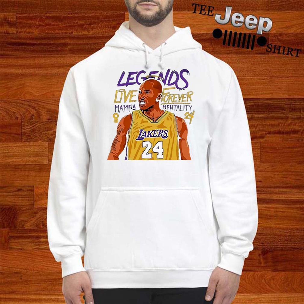 Kobe Bryant Forever Mamba Shirt hoodie