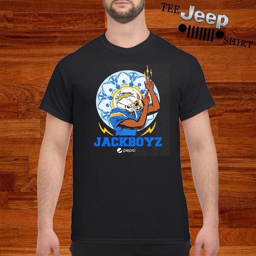Los Angeles Chargers Jackboyz Pepsi Shirt