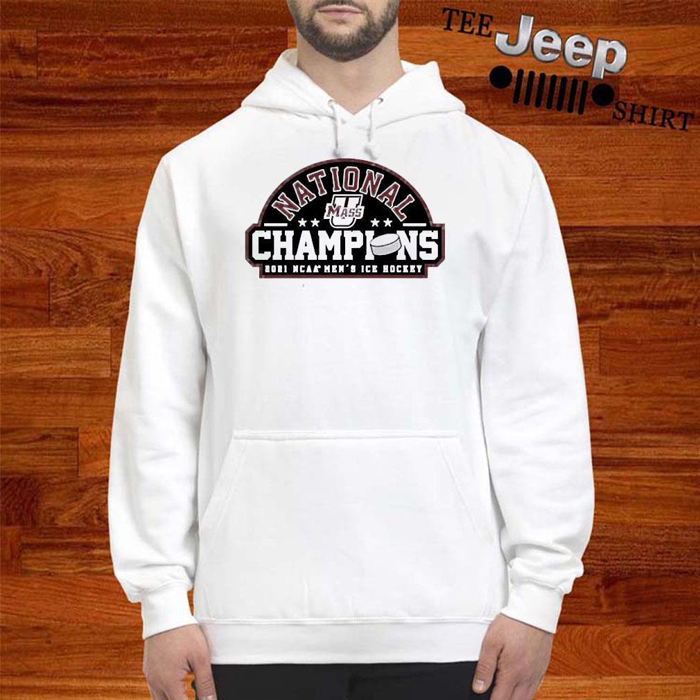National Champions 2021 Umass Minutemen Ncaa Mens Ice Hockey Shirt hoodie