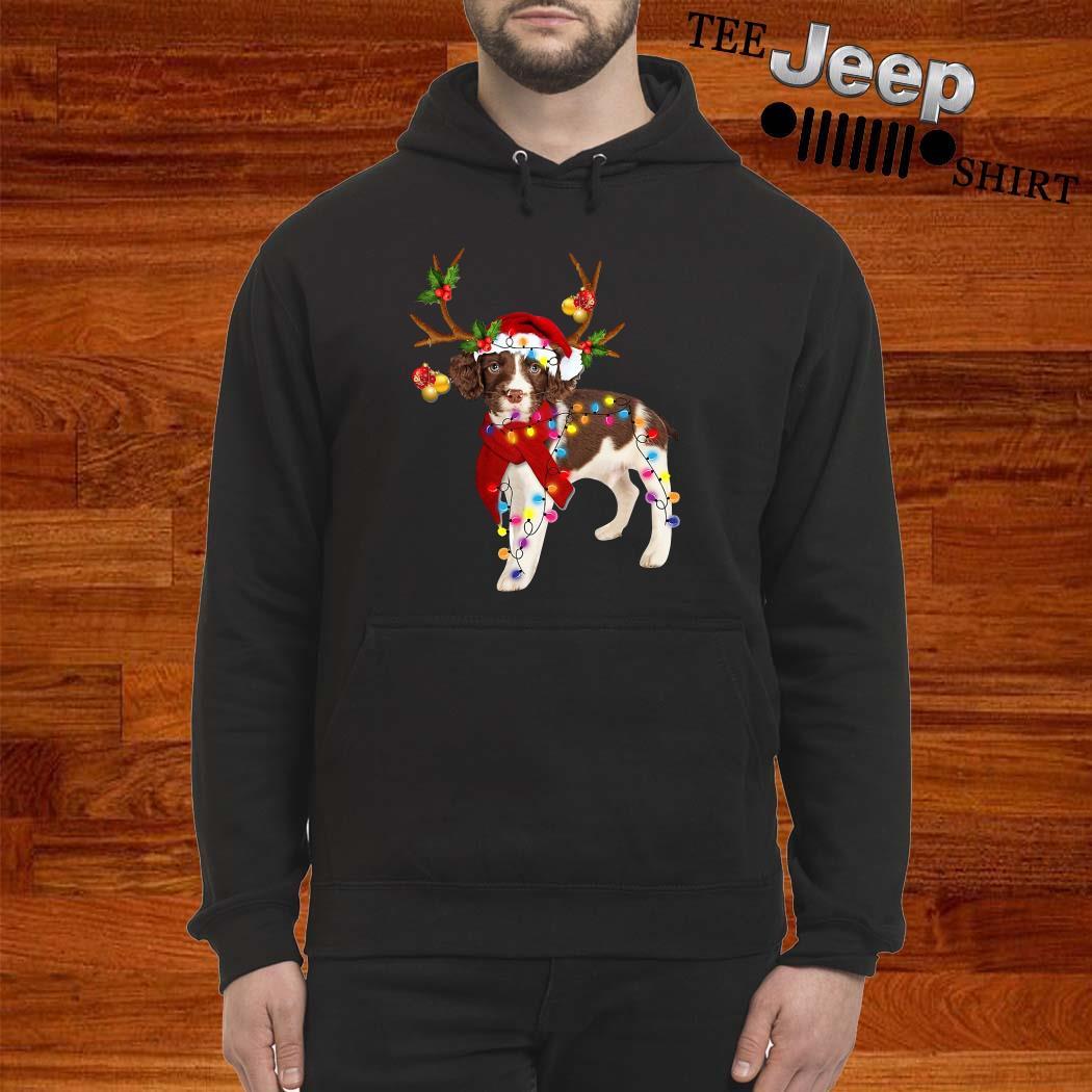 English Springer Spaniel Gorgeous Reindeer Hoodie