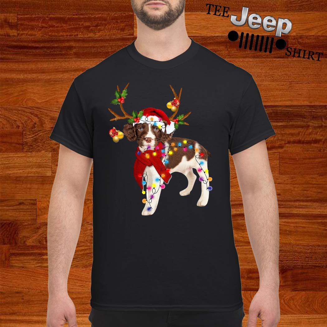 English Springer Spaniel Gorgeous Reindeer Shirt
