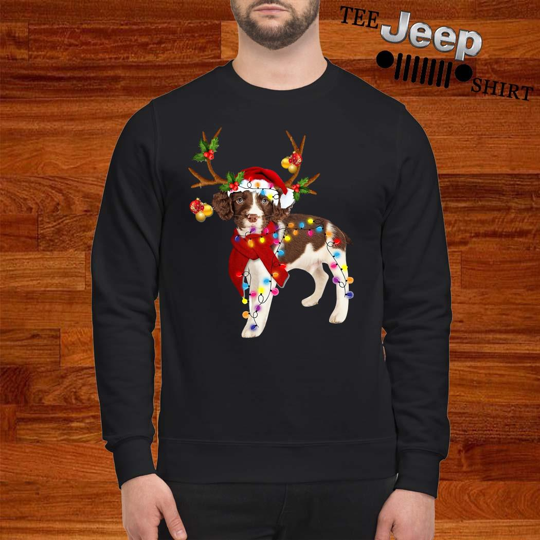 English Springer Spaniel Gorgeous Reindeer Sweatshirt