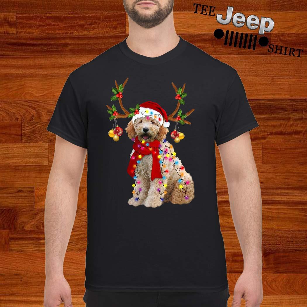 Goldendoodle Gorgeous Reindeer Christmas Shirt
