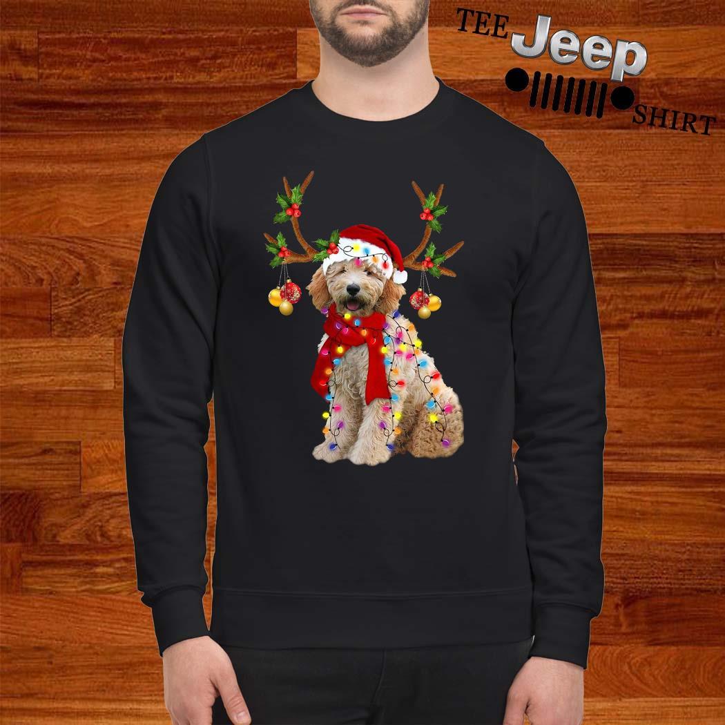 Goldendoodle Gorgeous Reindeer Christmas Sweatshirt