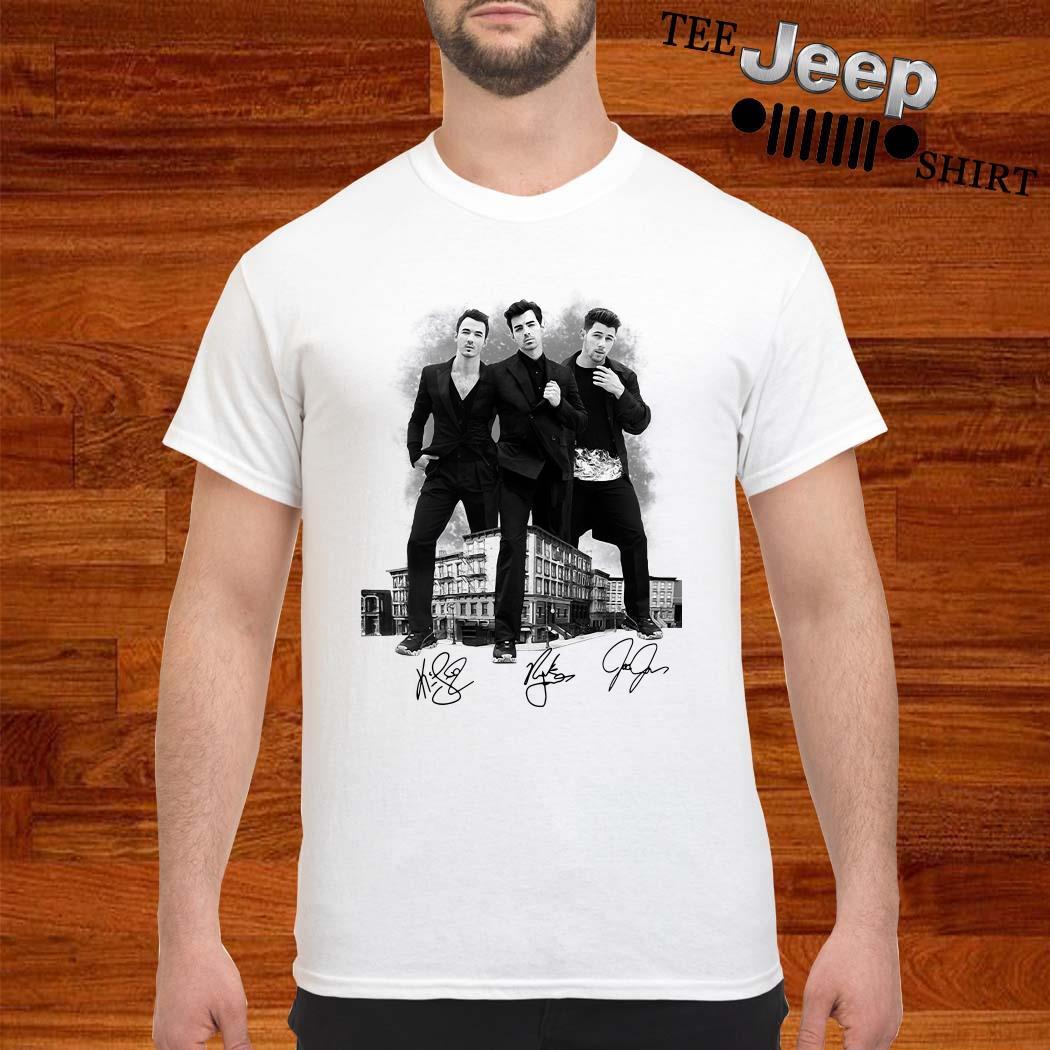 Jonas Brothers Signatures Shirt
