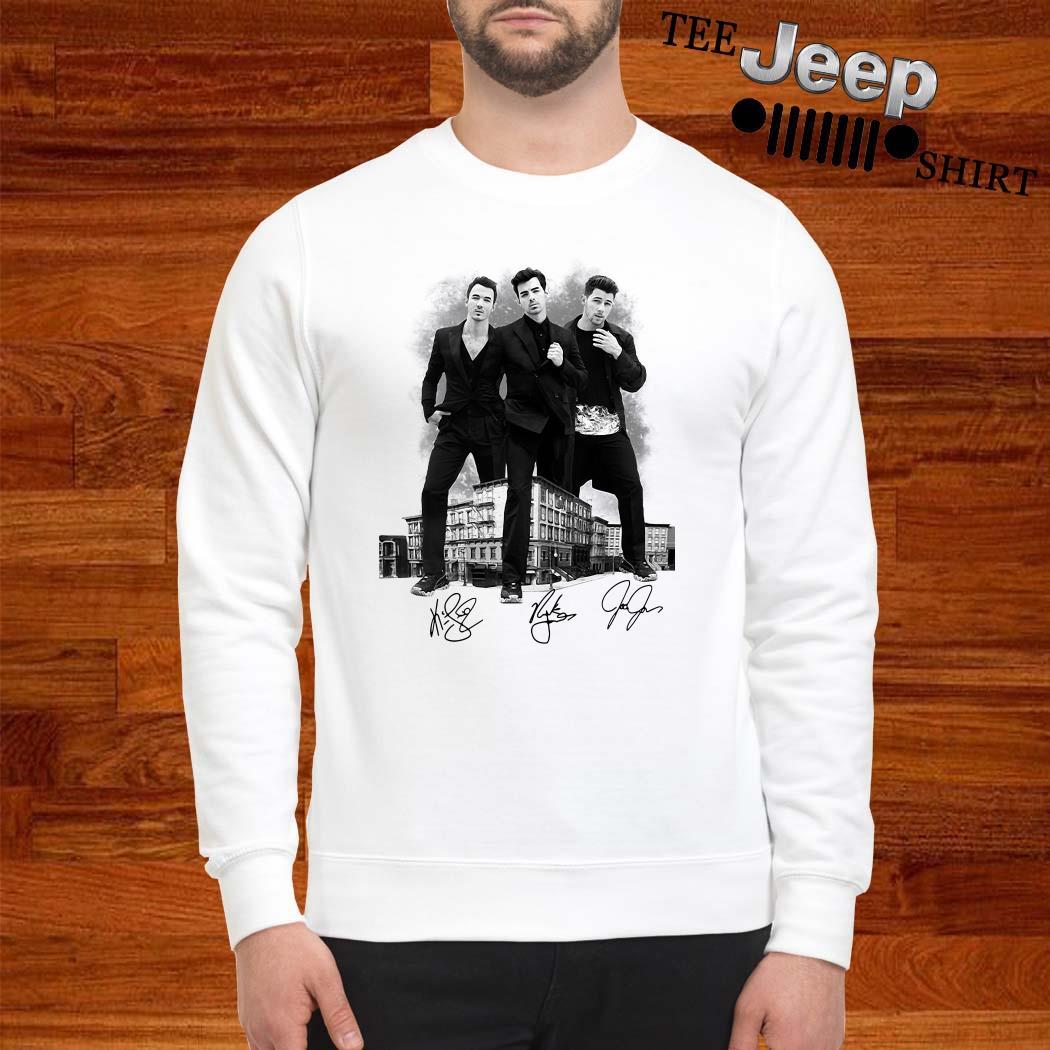 Jonas Brothers Signatures Sweatshirt