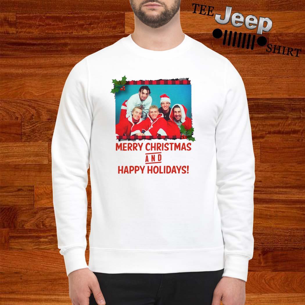 NSYNC Merry Christmas And Happy Holidays Sweatshirt