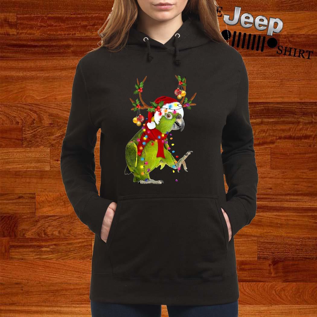 Parrot Gorgeous Reindeer Crewneck Hoodie