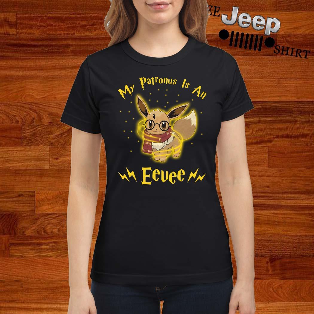 My Patronus Is An Eevee Ladies Shirt