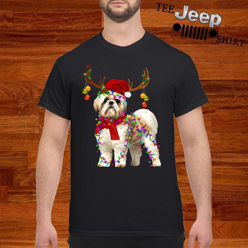 Shih Tzu Gorgeous Reindeer Christmas Shirt