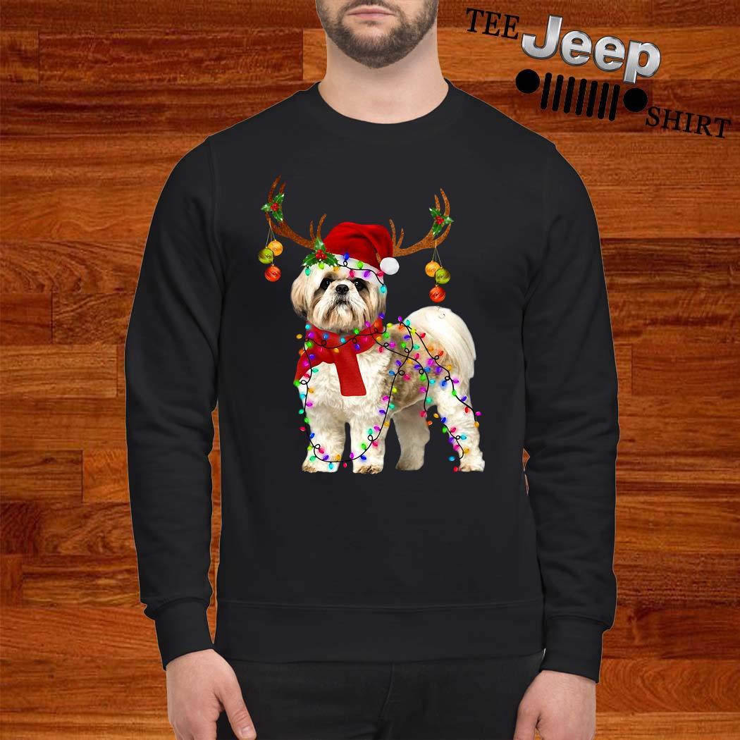 Shih Tzu Gorgeous Reindeer Christmas Sweatshirt