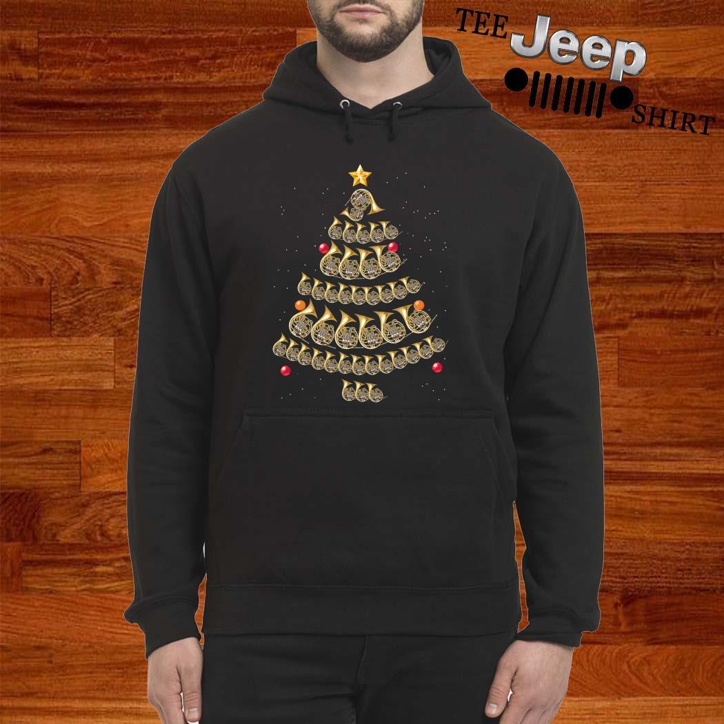 Trumpet Christmas Tree Hoodie