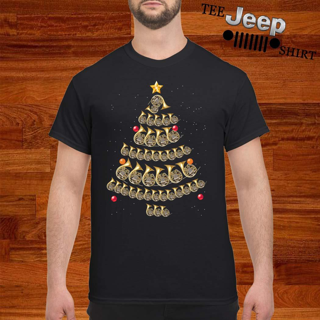 Trumpet Christmas Tree Shirt