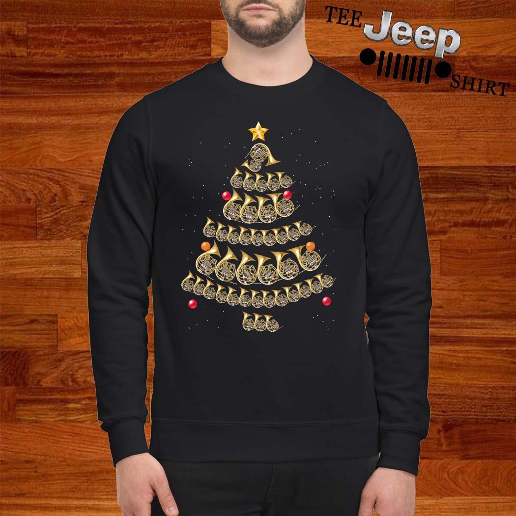 Trumpet Christmas Tree Sweatshirt