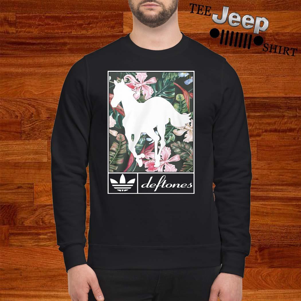 Adidas Deftones Horse Flowers Sweatshirt