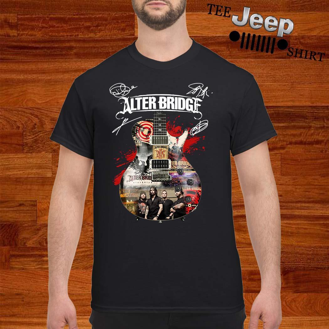 Alter Bridge Guitar Signatures Shirt