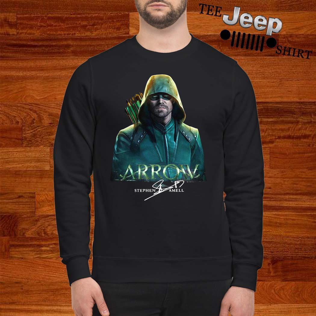 Arrow Stephen Amell Signature Sweatshirt