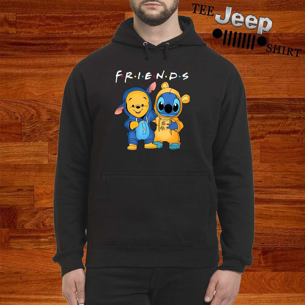 Baby Pooh And Baby Stitch Friends Hoodie