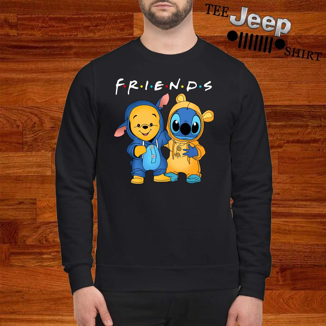 Baby Pooh And Baby Stitch Friends Sweatshirt