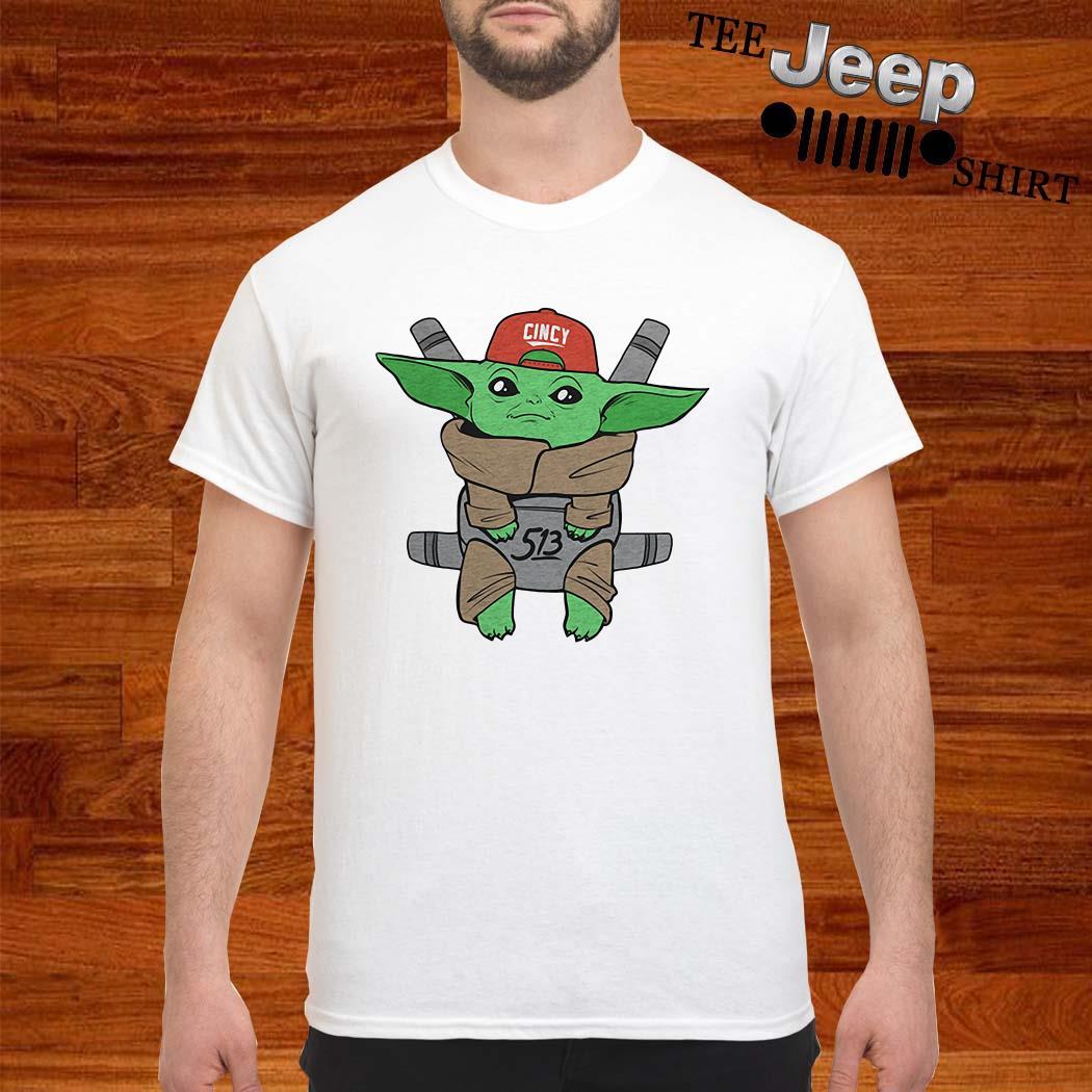 Baby Yoda Cincy 513 Shirt