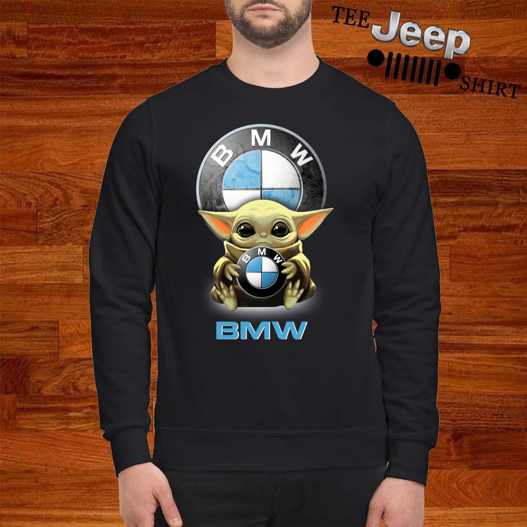 Baby Yoda Hug BMW Sweatshirt
