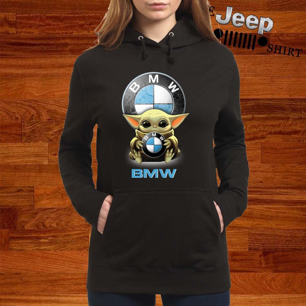 Baby Yoda Hug BMW Hoodie