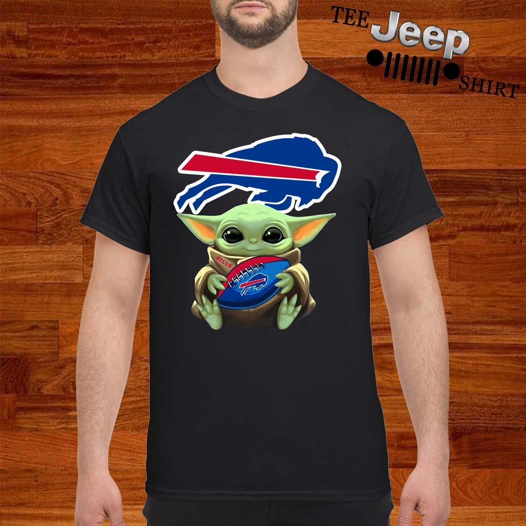 Baby Yoda Hug Buffalo Bills Shirt