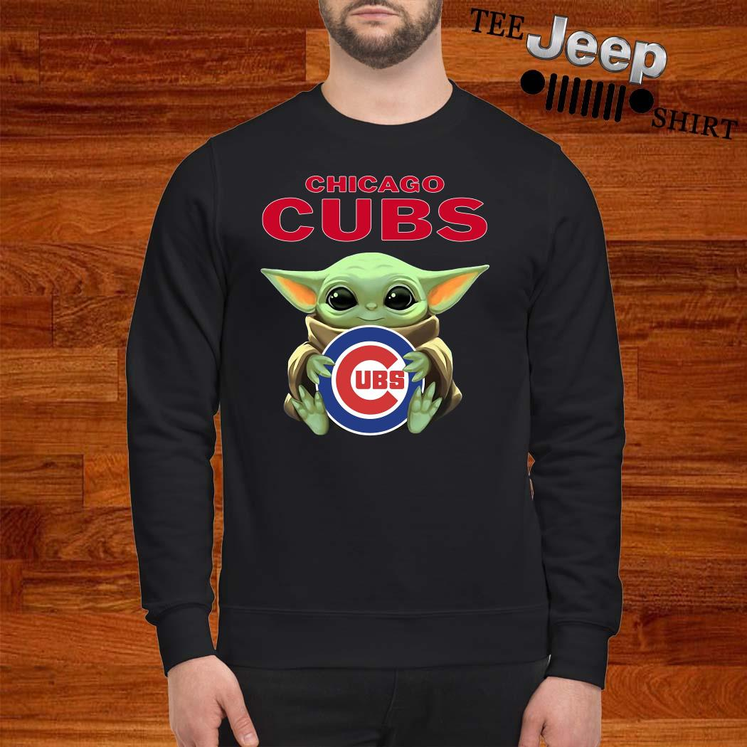 Baby Yoda Hug Chicago CUBS Sweatshirt