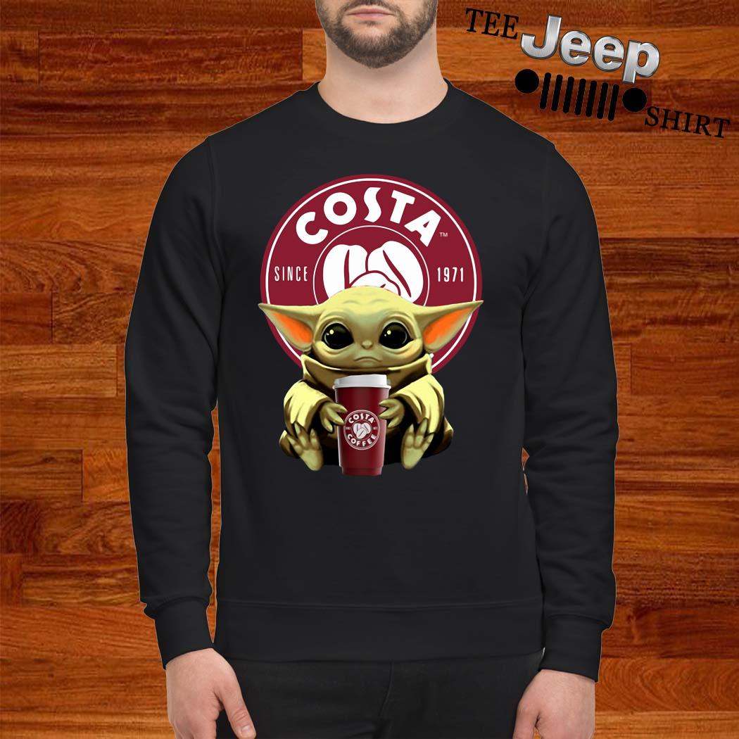 Baby Yoda Hug Costa Sweatshirt
