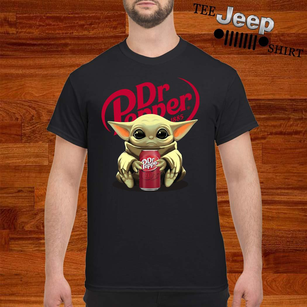 Baby Yoda Hug Dr Pepper Shirt