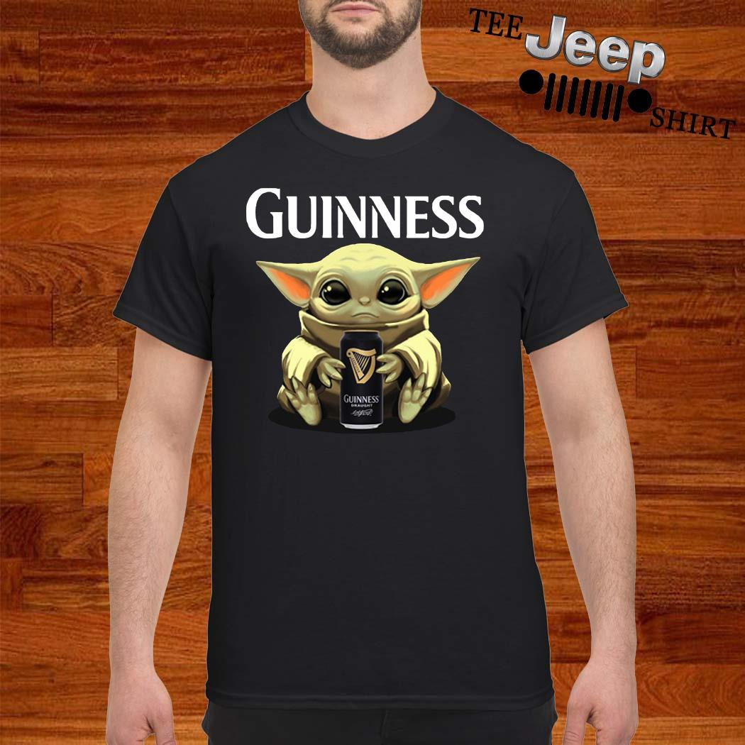 Baby Yoda Hug Guinness Shirt