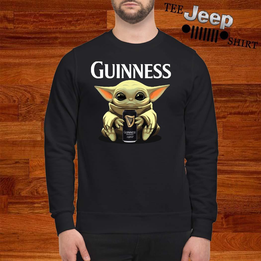 Baby Yoda Hug Guinness Sweatshirt