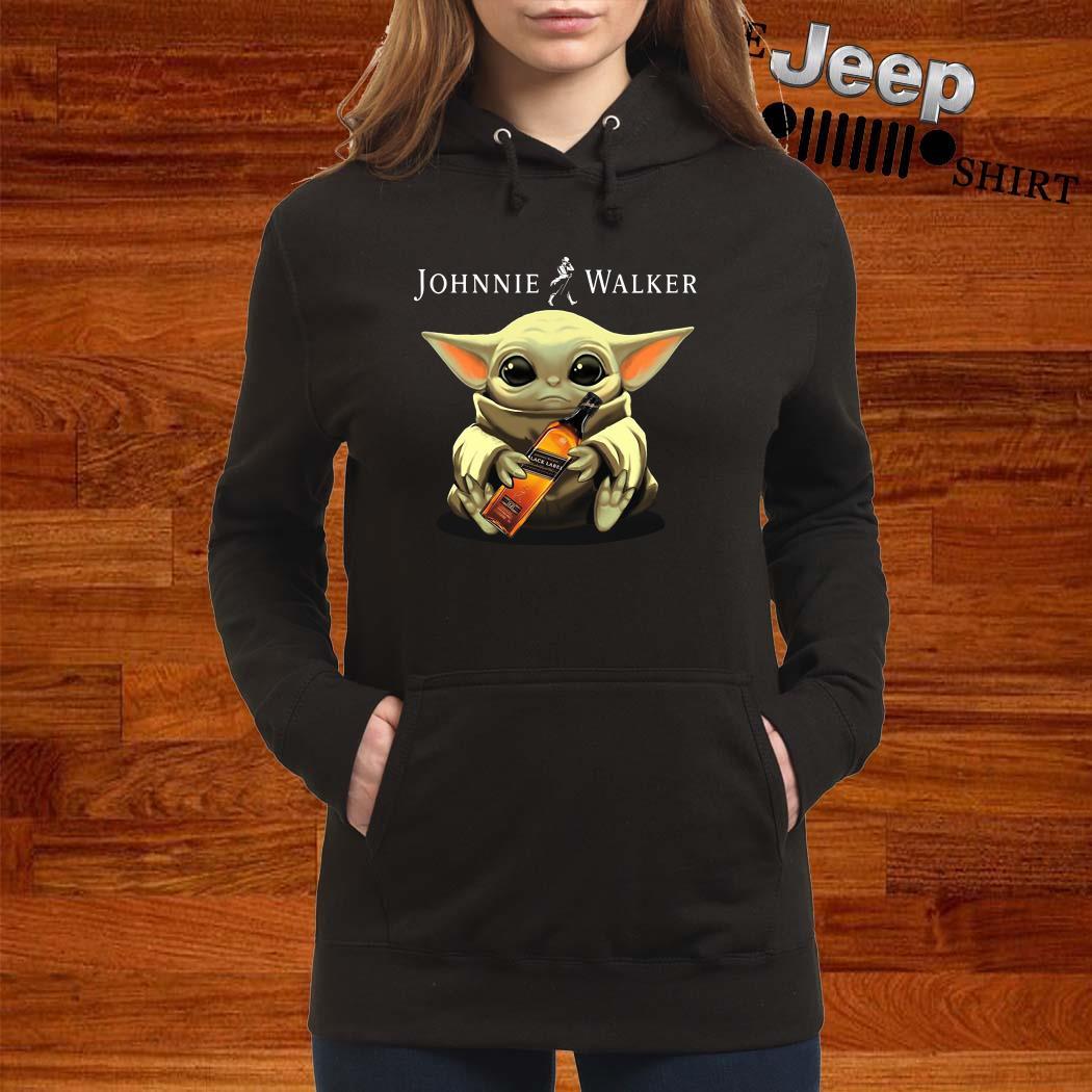 Baby Yoda Hug Johnnie Walker Hoodie