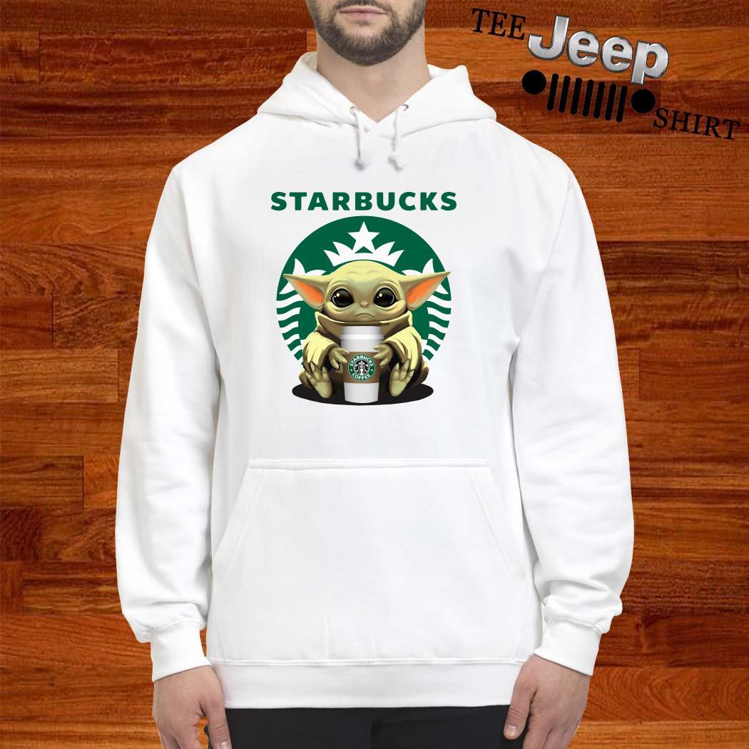 Baby Yoda Hug Starbucks Hoodie