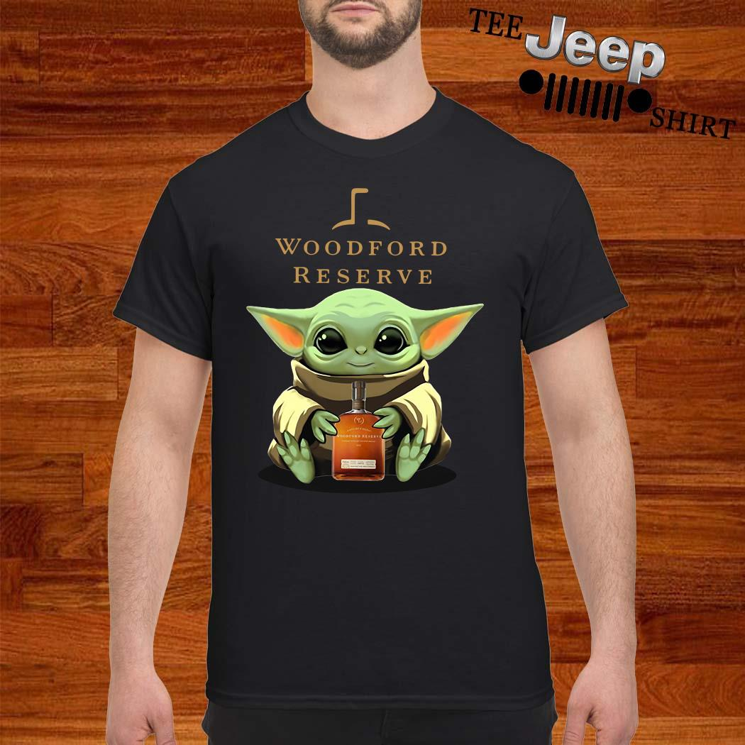 Baby Yoda Hug Woodford Reserve Shirt