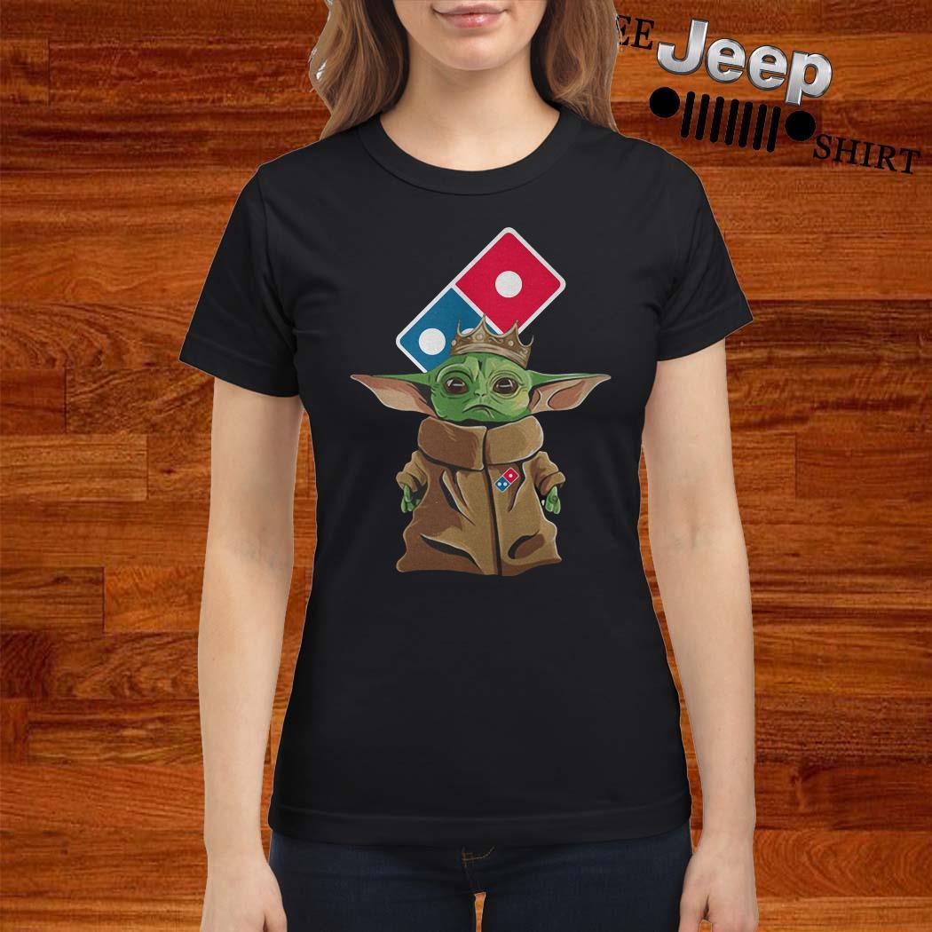Baby Yoda King Domino Ladies Shirt
