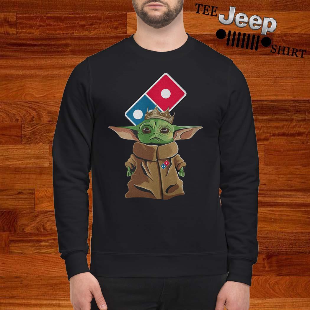 Baby Yoda King Domino Sweatshirt
