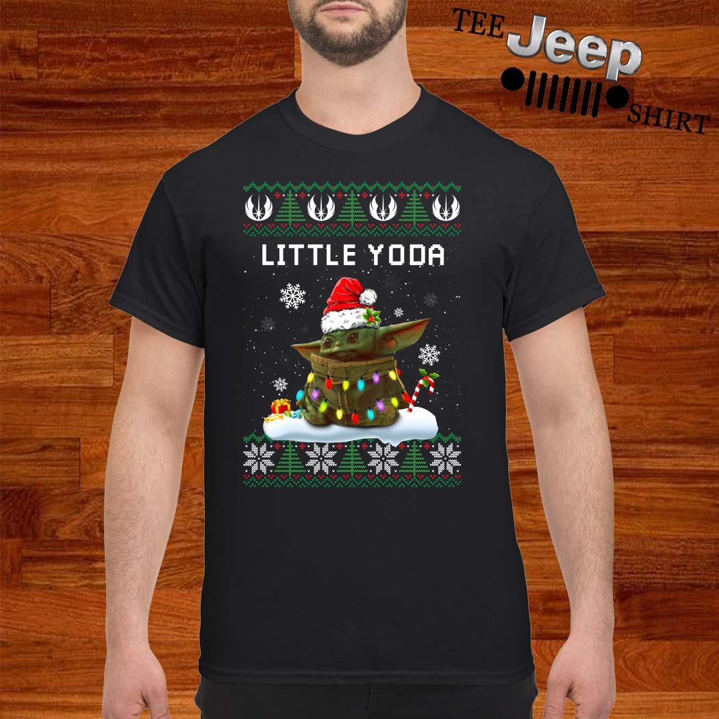 Baby Yoda Santa Little Yoda Ugly Christmas Shirt