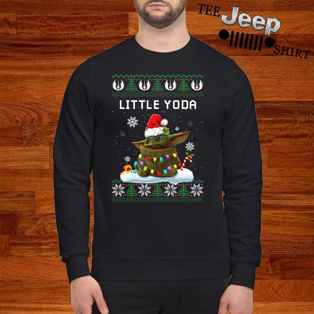 Baby Yoda Santa Little Yoda Ugly Christmas Sweater