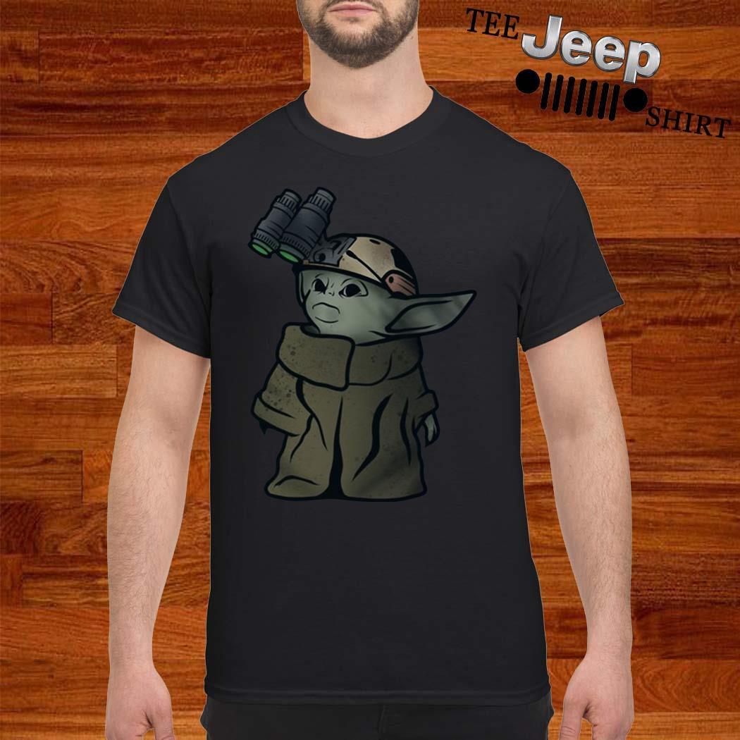 Baby Yoda Soldier Shirt