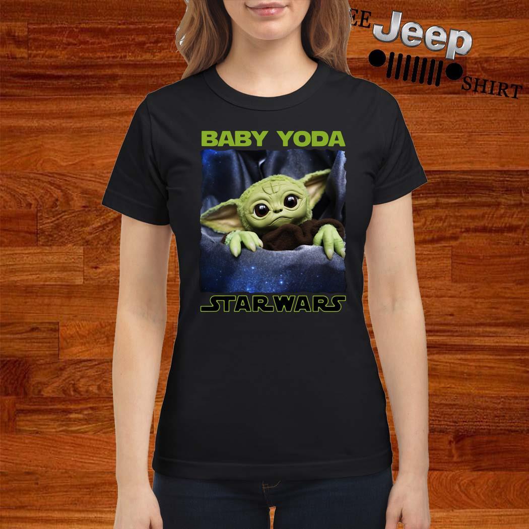 Baby Yoda Star Wars Ladies Shirt